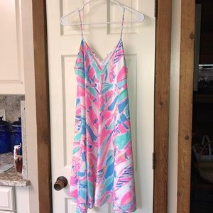 Lilly Pulitzer Clara dress Out to Sea size L